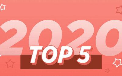 Los 5 Mejores Artículos de 2020
