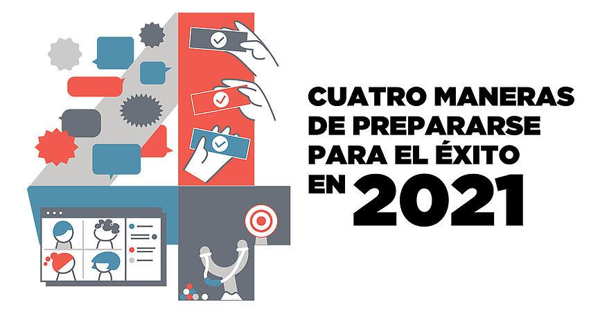 Cuatro Maneras de Prepararse Para El Exito En 2021